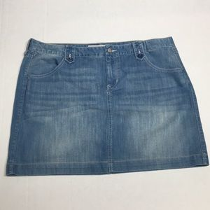 Old Navy Jean Skirt Size 18